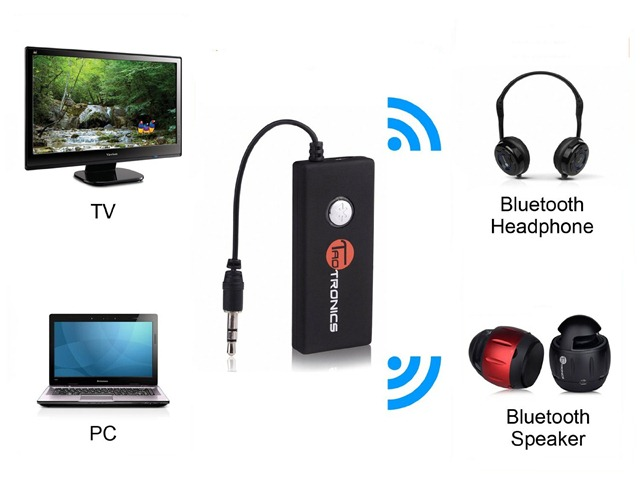 Bluetooth headphone dongle for tv - bluetooth headphone adapter for tv
