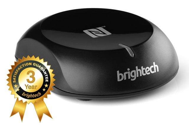 Brightech - BrightPlay LiveTM - NFC Enabled Bluetooth Audio Receiver