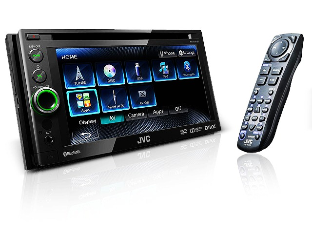 JVC_KWAV61BT_6.1_Inch_DVD_CD_USB_Bluetooth_car_stereo_receiver
