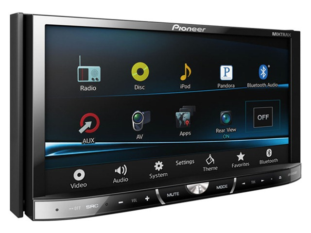 Stereo touch screen bluetooth