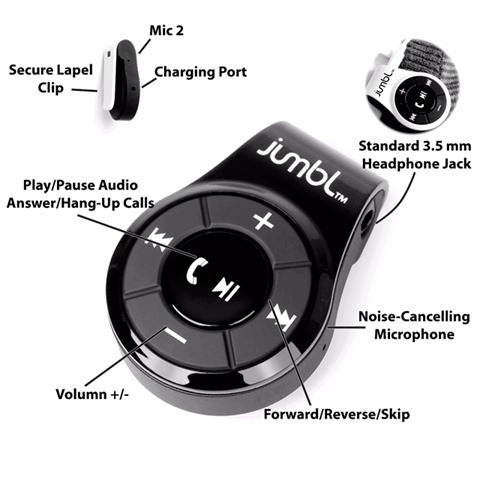 Jumbl™_Bluetooth_Transmitter_Hands-Free_Calling_A2DP_Audio_instruction