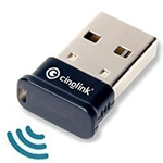 Cinolink Bluetooth 4.0 USB Adapter for Windows / Linux / Mac - Plug and Play, Class 1, 50 Meter, APTX